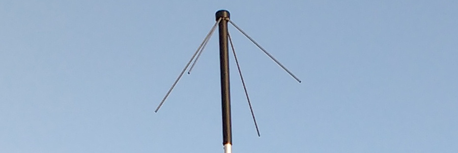 On-air tests of the Wimo TA-1 turnstile antenna